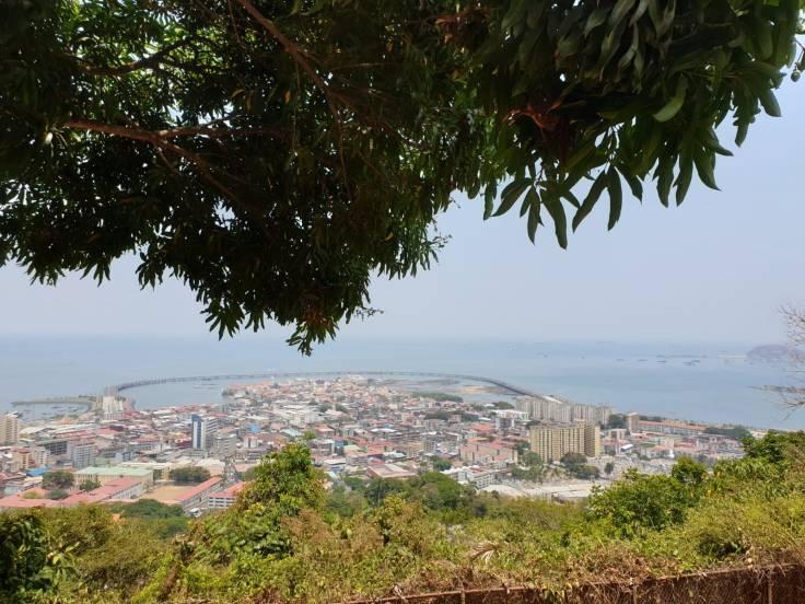 Aussicht vom Cerro Ancon